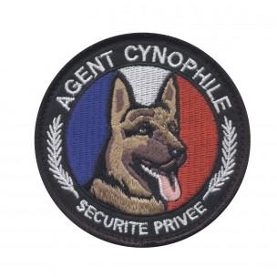 Ecusson Agent cynophile - Sécurité Privée BERGER