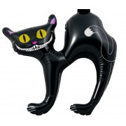 CHAT NOIR GONFLABLE