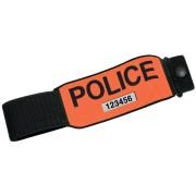 BRASSARD POLICE RETRO-REFLECHISSANT