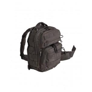 sac dos assault pack one strap small noir 10 litres. Black Bedroom Furniture Sets. Home Design Ideas