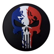 Ecusson PVC PUNISHER FRANCE
