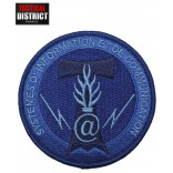 Ecusson Gendarmerie SIC BV Bleu