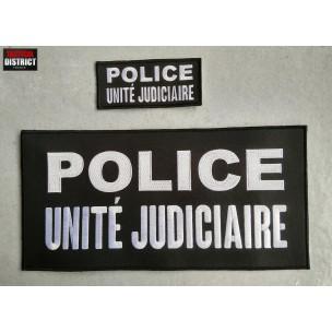 Bande brodée POLICE - Unité Judiciaire