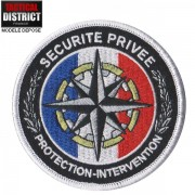 Ecusson Sécurité Privée - Protection et Intervention