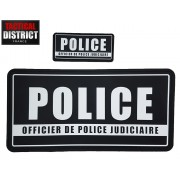 Bandes PVC - POLICE - OPJ