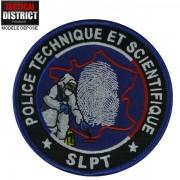 Ecusson PTS - SLPT Bleu