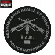 Ecusson RAM Responsable Armes et Munitions BV