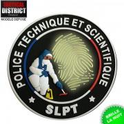 Ecusson PTS - SLPT Noir PVC - Phosphorescent