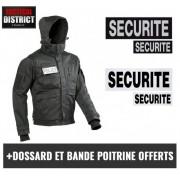 Blouson Police / Sécurité Phantom noir