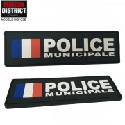 Bande d'identification PVC POLICE MUNICIPALE FRANCE