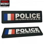 Bande d'identification PVC POLICE MUNICIPALE FRANCE