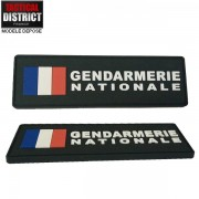 Bande d'identification PVC GENDARMERIE NATIONALE FRANCE