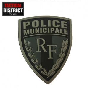 Ecusson PVC Police Municipale Basse visibilité