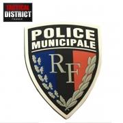 Ecusson PVC Police Municipale 2