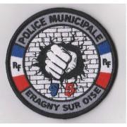 Ecusson Police Municipale ERAGNY SUR OISE