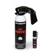 Aérosol lacrymogène anti-agression gel poivre
