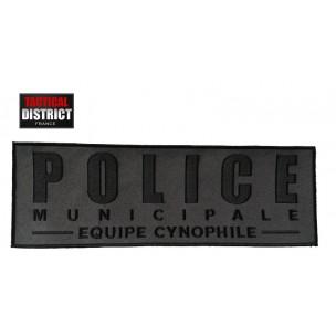 Bande velcro POLICE MUNICIPALE équipe cynophile