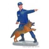 Figurine Policier à vélo ref 031