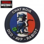 Ecusson PVC Chat Noir Police Municipale