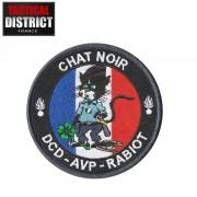 Ecusson Chat Noir Gendarmerie
