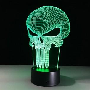 Lampe de bureau 3D Punisher