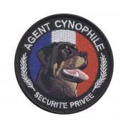 Ecusson Agent cynophile - Sécurité Privée ROTT