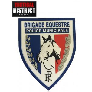 Ecusson PVC Brigade équestre - POLICE MUNICIPALE