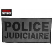 Bande d'identification Police Judiciaire BV 30x15