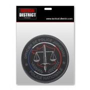 Ecusson OPJ - Basse visibilité - Officier de Police Judiciaire