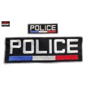 Bandes d'identification brodées POLICE FRANCE