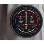 Ecusson POLICE OPJ - Basse visibilité