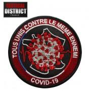ECUSSON COVID-19 tous unis contre le meme ennemi