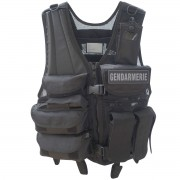 GILET FORCE INTERVENTION AVEC HOLSTER