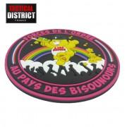 Ecusson PVC Bisounours - Edition limitée