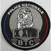Ecusson Police BTC Paris 10 - 18