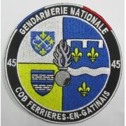 Ecusson Gendarmerie COB FERRIERES-EN-GATINAIS