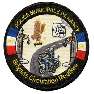 Ecusson Police Municipale Nancy - BCR