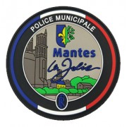 Ecusson Police Municipale Mantes La Jolie