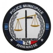 Ecusson Police Municipale Annemasse