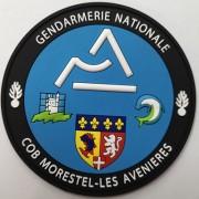 Ecusson Gendarmerie COB MORESTEL