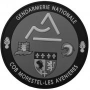 Ecusson Gendarmerie COB MORESTEL BV