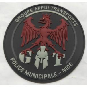 Ecusson Police Municipale GAT Nice BV
