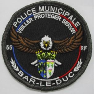 Ecusson Police Municipale BAR-LE-DUC