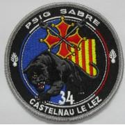 Ecusson Gendarmerie PSIG CASTELNAU LE LEZ