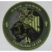 Ecusson Gendarmerie PSIG CASTELNAU LE LEZ BV VERT