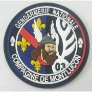Ecusson Gendarmerie Compagnie de Montluçon