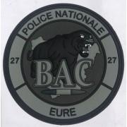 Ecusson Police BAC Evreux - EURE Basse visibilité