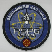 Ecusson brodé Gendarmerie PSPG GOLFECH
