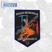 Ecusson Police Municipale Chateaurenard