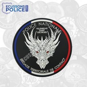 Ecusson Police BTC Villeneuve Saint Georges